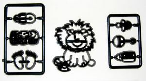 Patchwork Cutter: Baby Lion & Nursery Items